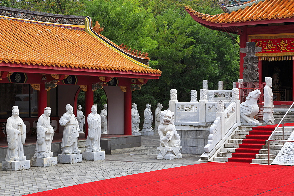 Confucian Shrine and Historical Museum of China, Nagasaki, Kyushu Island, Japan, Asia