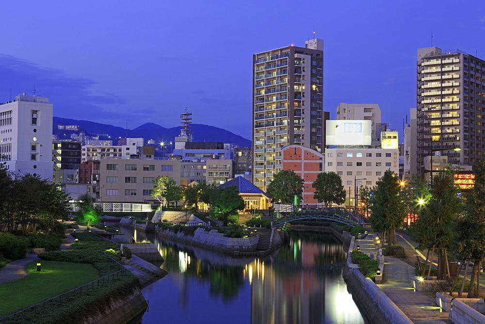 Nakashima River, Nagasaki, Kyushu Island, Japan, Asia
