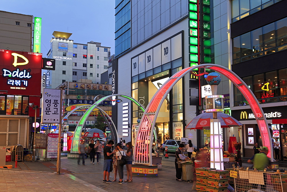 BIFF Square, Nampo District, Busan, South Korea, Asia