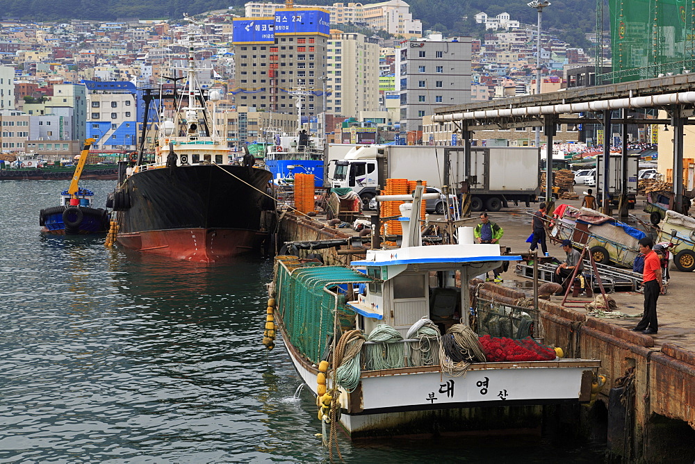 Fish Market, Nampo District, Busan, South Korea, Asia