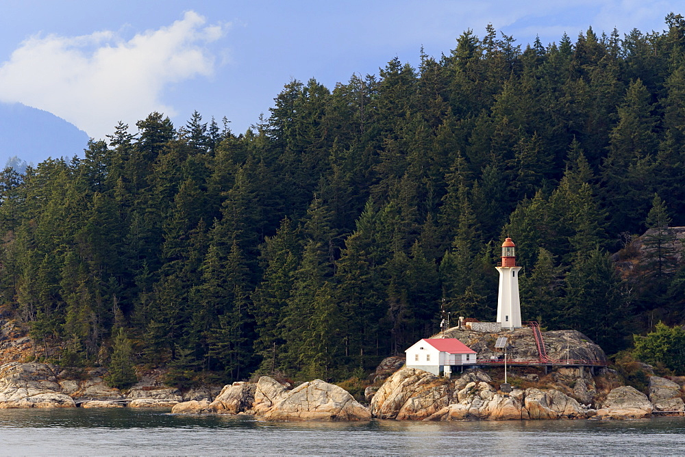 Point Atkinson Lighthouse, Vancouver, British Columbia, Canada, North America