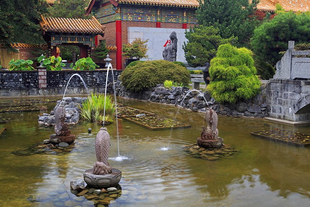 International Buddhist Temple, Richmond, Vancouver, British Columbia, Canada, North America