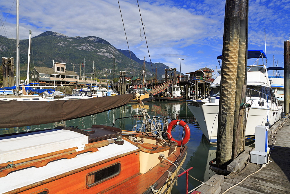 Marina, Squamish, Vancouver, British Columbia, Canada, North America