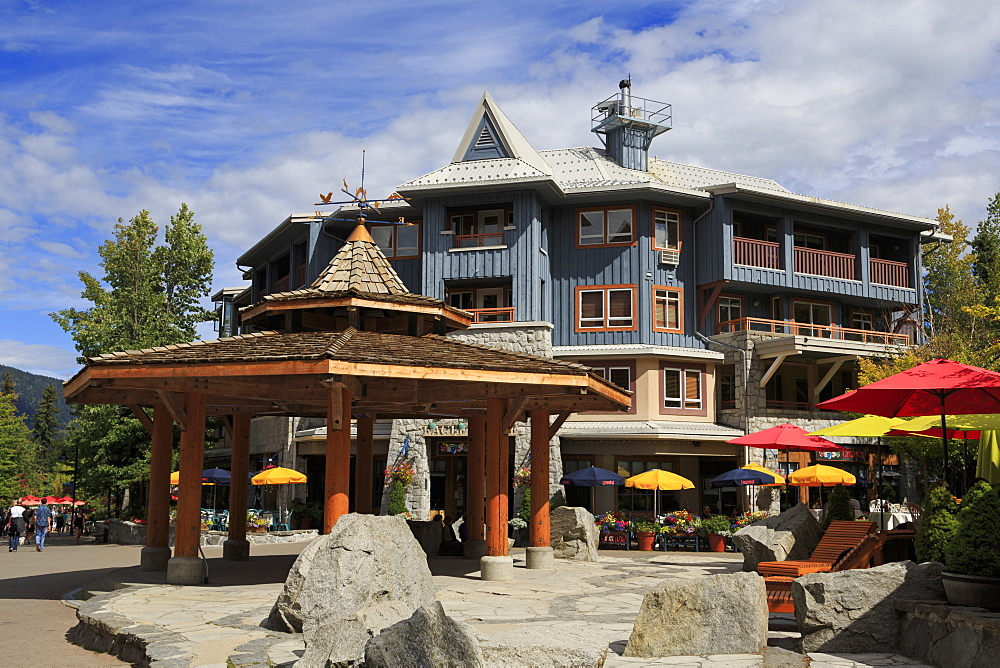 Whistler Village, British Columbia, Canada, North America