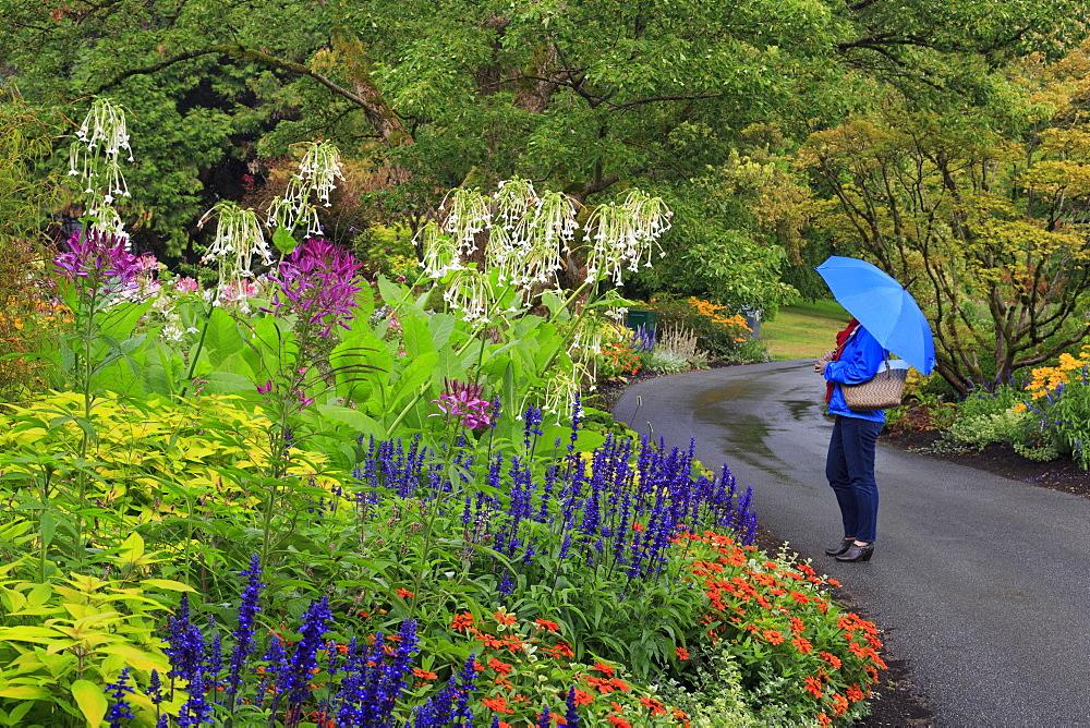 VanDusen Gardens, Vancouver, British Columbia, Canada, North America