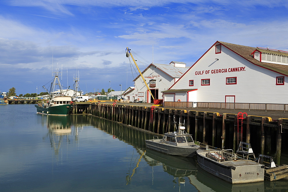 Gulf of Georgia Cannery, Steveston Fishing Village, Vancouver, British Columbia, Canada, North America