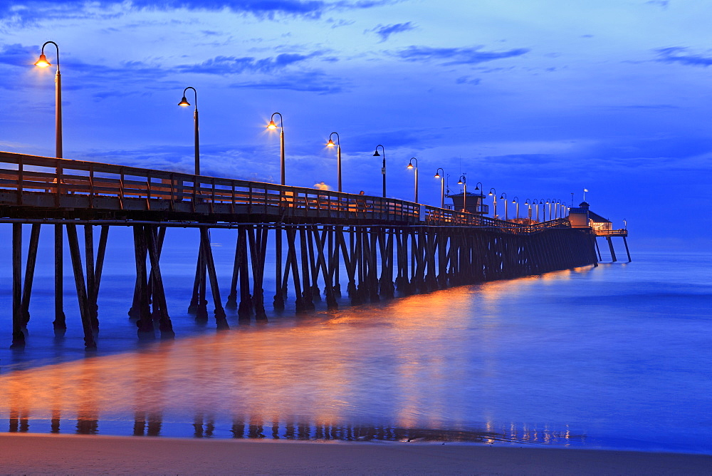 Imperial Beach Pier, San Diego, California, United States of America, North America
