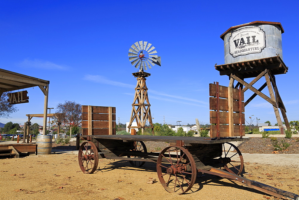 Windmill, Vail Headquarters Heritage Park, Temecula, California, United States of America, North America