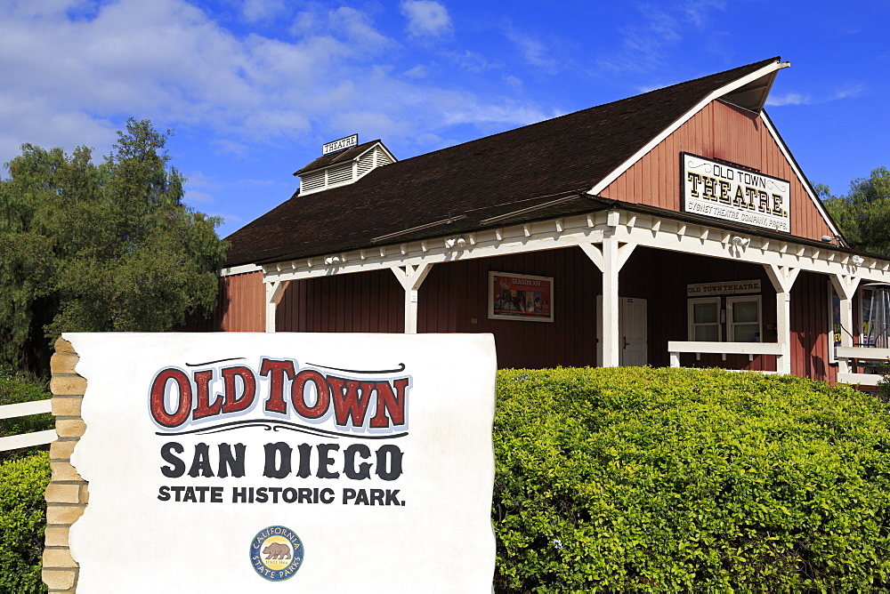 Theatre, Old Town Sate Historic Park, San Diego, California, United States of America, North America