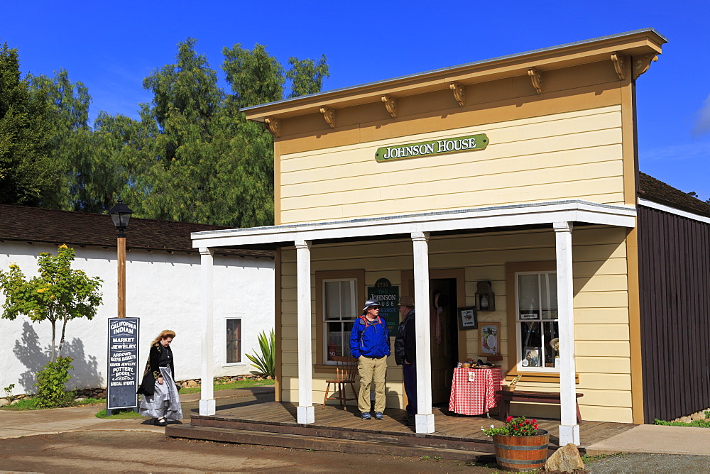 Stores, Old Town Sate Historic Park, San Diego, California, United States of America, North America
