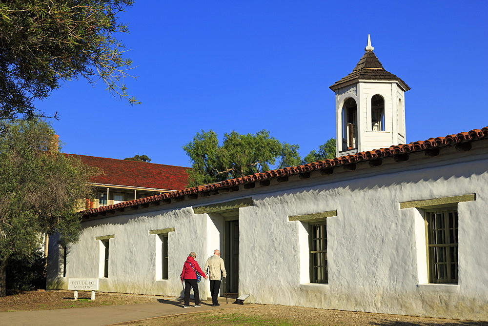Estudillo Museum, Old Town State Historic Park, San Diego, California, United States of America, North America