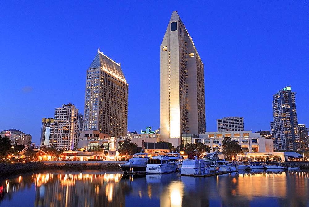Embarcadero Marina, San Diego, California, United States of America, North America