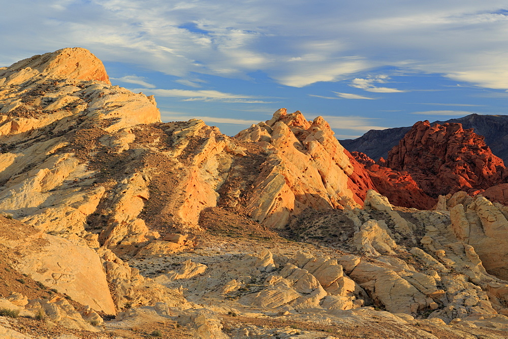 Silica Dome, Valley of Fire State Park, Overton, Nevada, USA