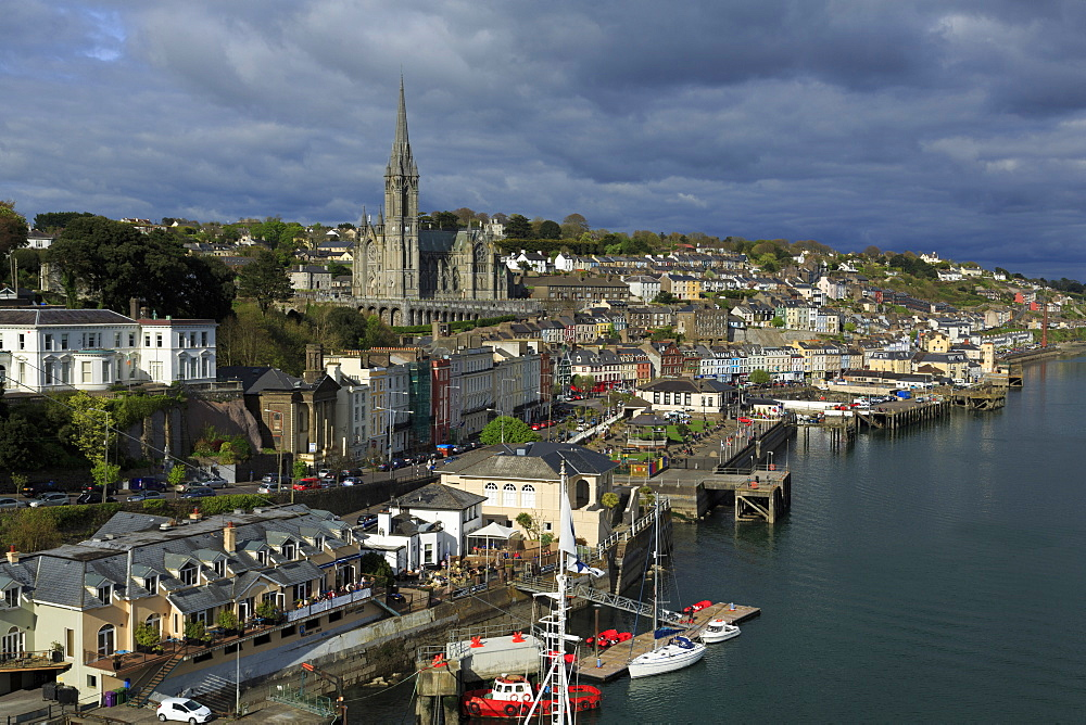 St. Colman's Cathedral, Cobh, County Cork, Munster, Republic of Ireland, Europe - 776-4962