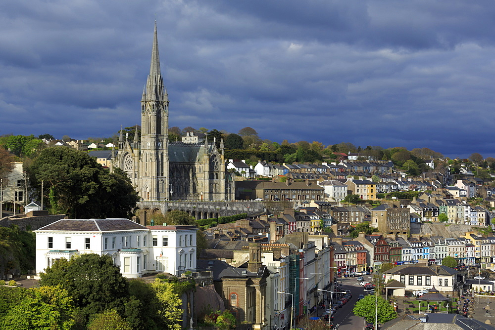 St. Colman's Cathedral, Cobh, County Cork, Munster, Republic of Ireland, Europe - 776-4963