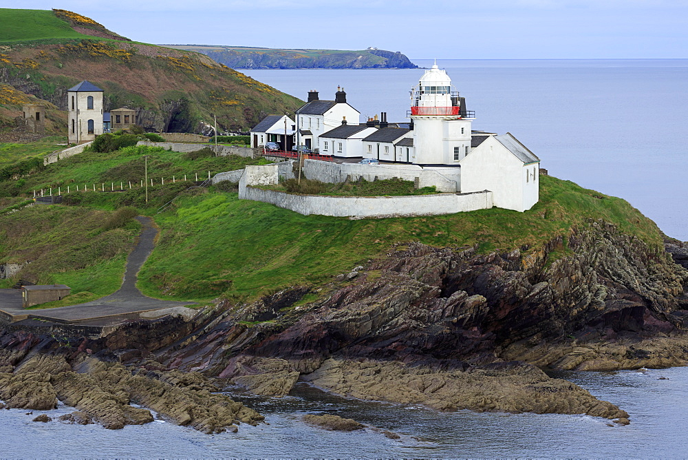 Roches Point Lighthouse, Whitegate Village, , County Cork, Ireland