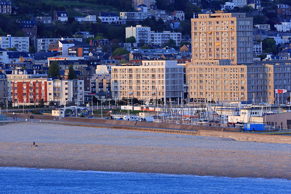 Beach, Le Havre, Normandy, France, Europe - 776-5003