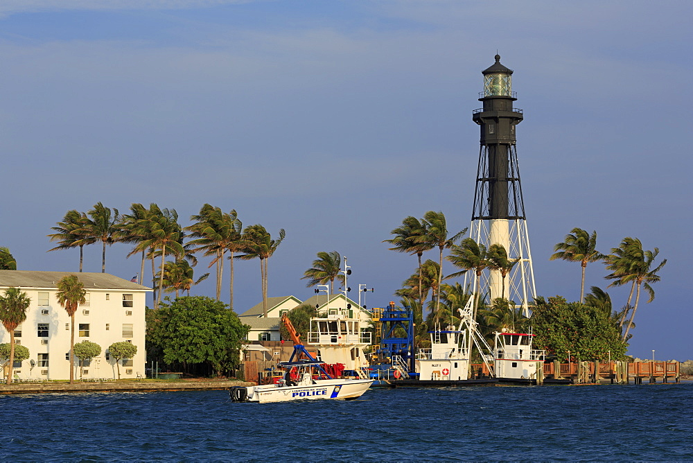 Hillsboro Lighthouse, Hillsboro Beach, Florida, United States of America, North America - 776-5028