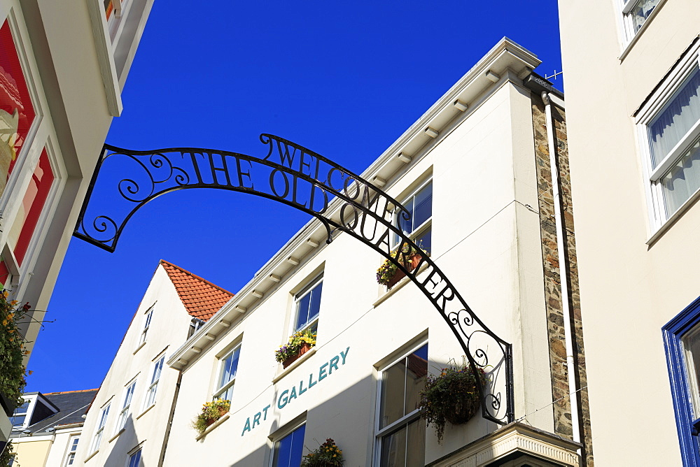 The Old Quarter, St. Peter Port, Guernsey, Channel Islands, Europe - 776-5036