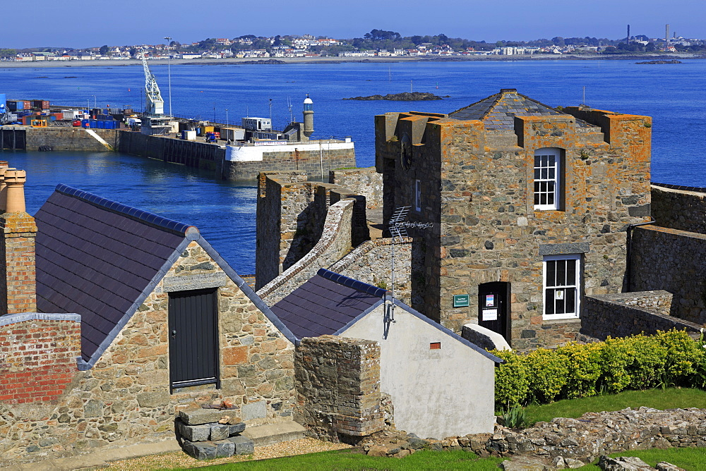 Castle Cornet, St. Peter Port, Guernsey, Channel Islands, Europe - 776-5037