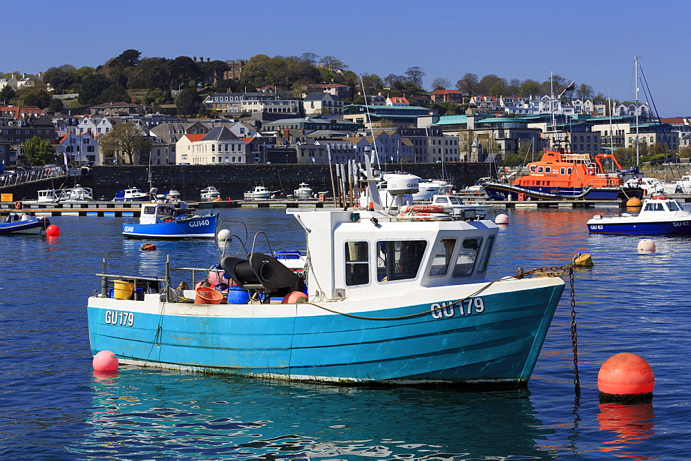 St. Peter Port, Guernsey, Channel Islands, Europe - 776-5040