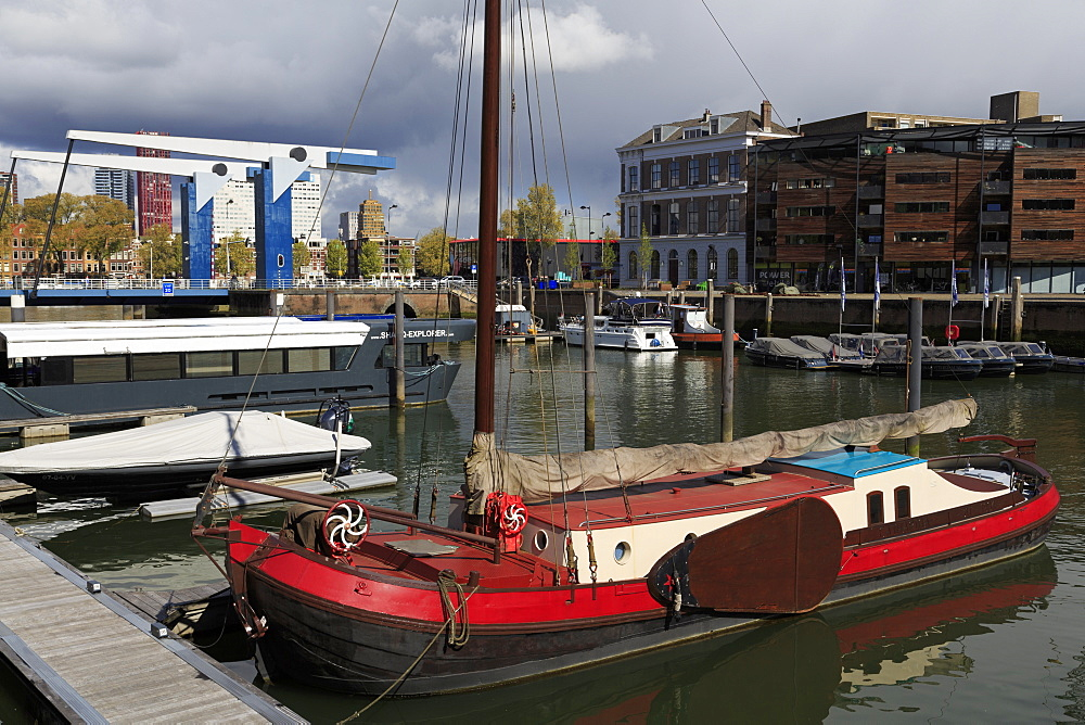 City Marina in Entrepothaven, Rotterdam, South Holland, Netherlands, Europe - 776-5056