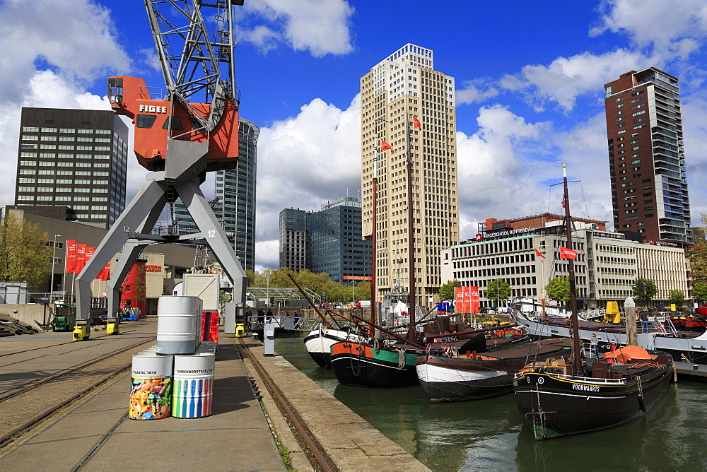 Maritime Museum, Rotterdam, South Holland, Netherlands, Europe