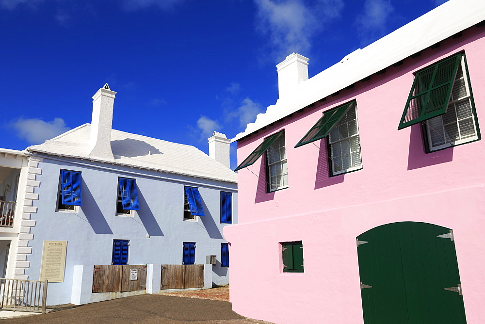 Long House, Somers' Wharf, Town of St. George, St. George's Parish, Bermuda, Central America