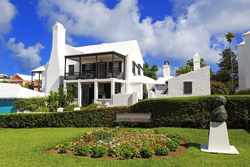 Historic Bridge House, Town of St. George, St. George's Parish, Bermuda, Central America