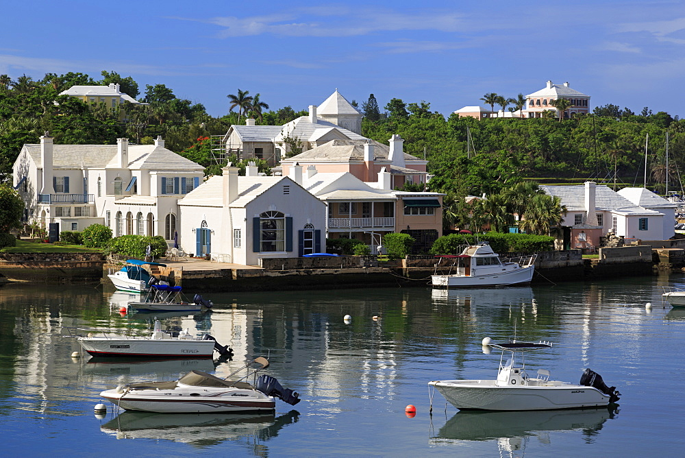 Architecture in Paget Parish, Bermuda, Atlantic, Central America