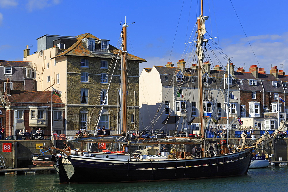 Custom House Quay, Weymouth, Dorset, England, United Kingdom, Europe