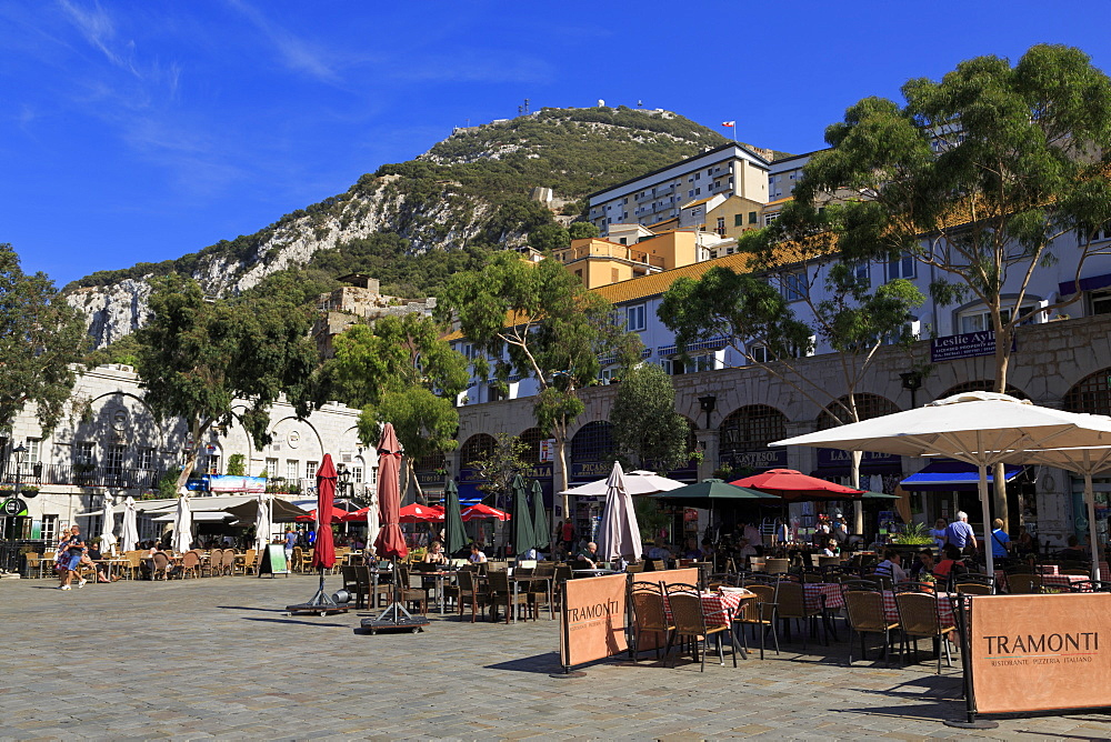Casemates Square, Gibraltar, United Kingdom, Europe