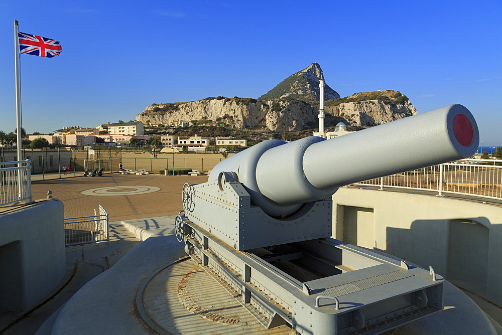 Harding's Battery, Europa Point, Gibraltar, United Kingdom, Europe