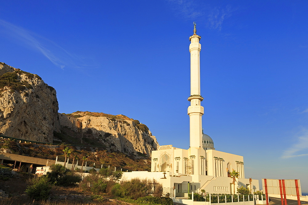 Mosque, Europa Point, Gibraltar, United Kingdom, Europe