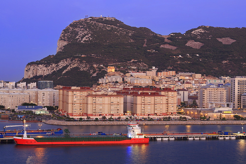 Gibraltar Port, Rock of Gibraltar, United Kingdom, Europe