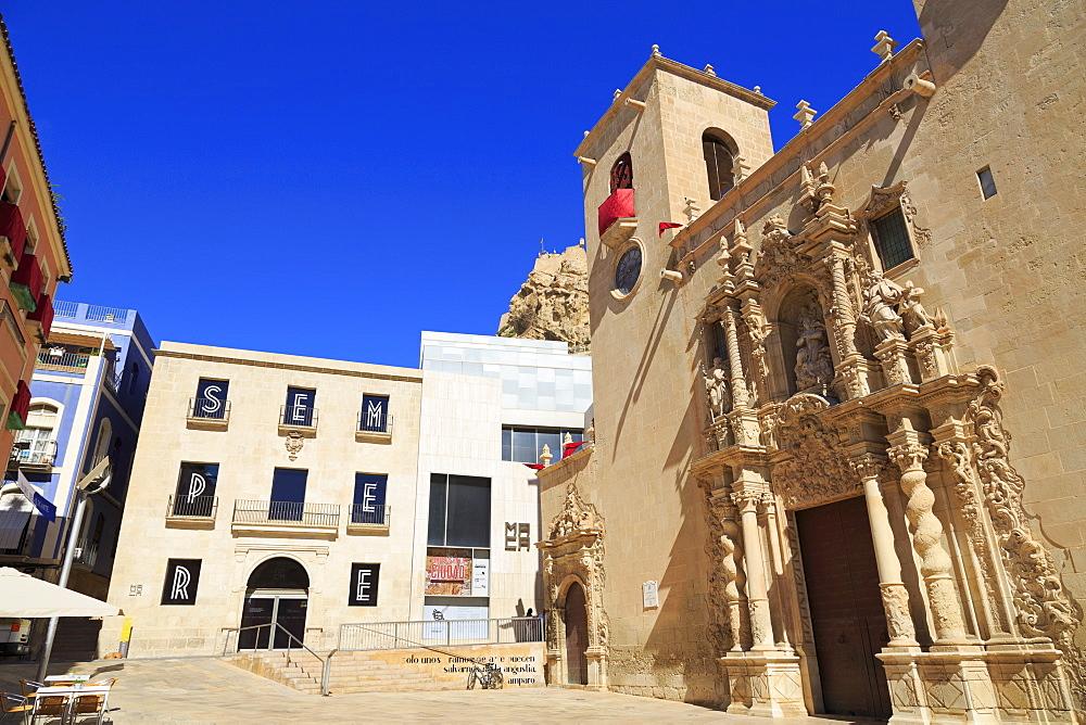 Basilica de Santa Maria, Alicante, Spain, Europe - 776-5134
