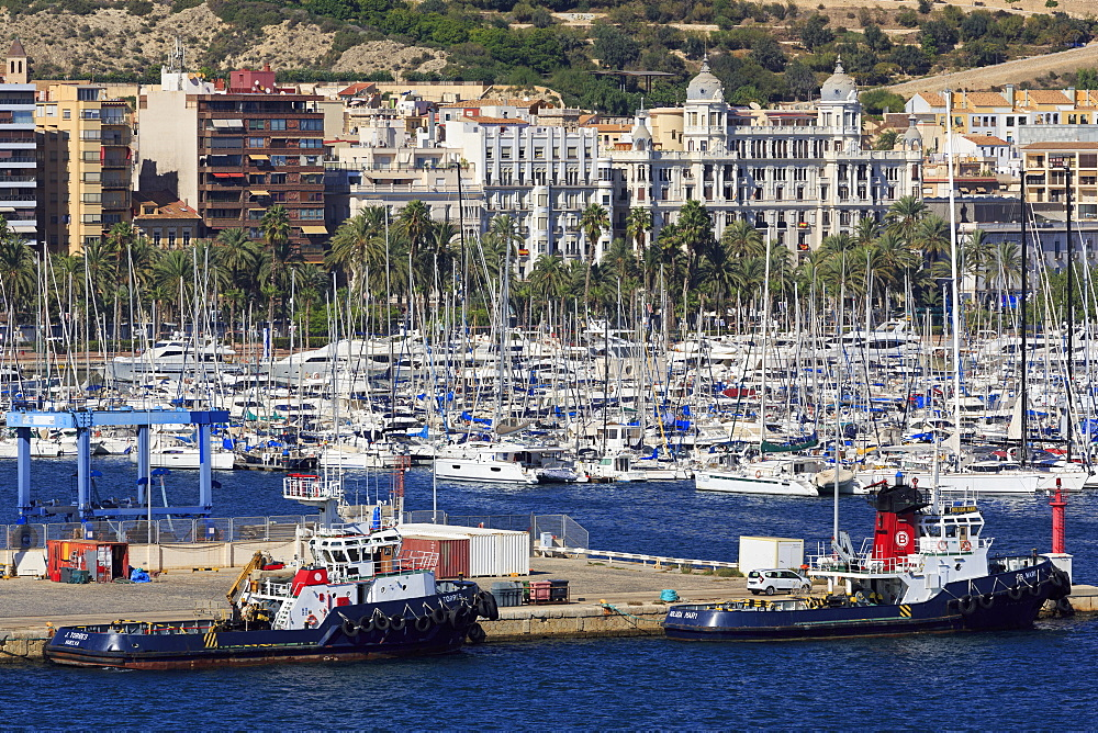 Port of Alicante, Costa Blanca, Spain, Europe