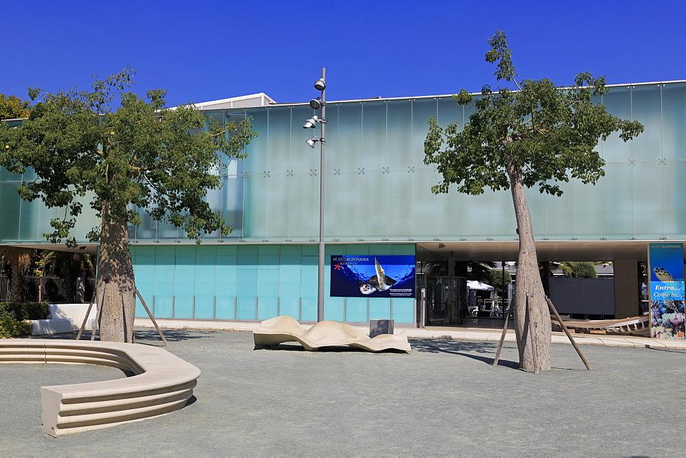Alborania Aula del Mar Museum, Malaga City, Andalusia, Spain, Europe