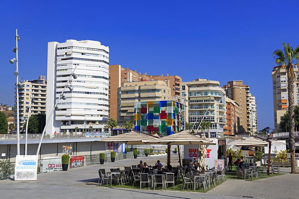 Muelle, Malaga City, Andalusia, Spain, Europe