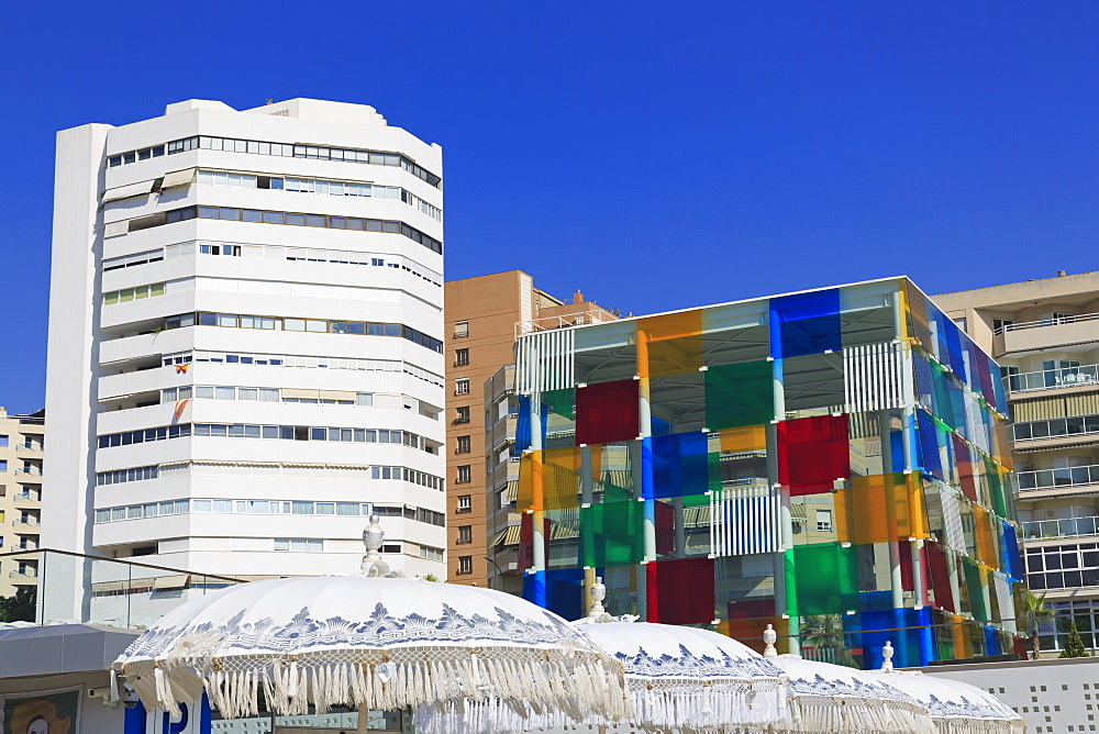 Centre Pompidou Museum, Malaga City, Andalusia, Spain, Europe