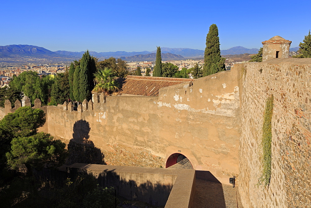 Gibralfaro Castle, Malaga City, Andalusia, Spain, Europe