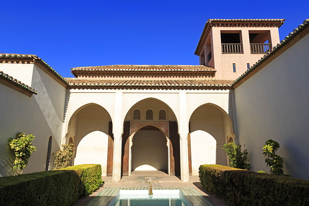 Alcazaba Palace, Malaga City, Andalusia, Spain, Europe