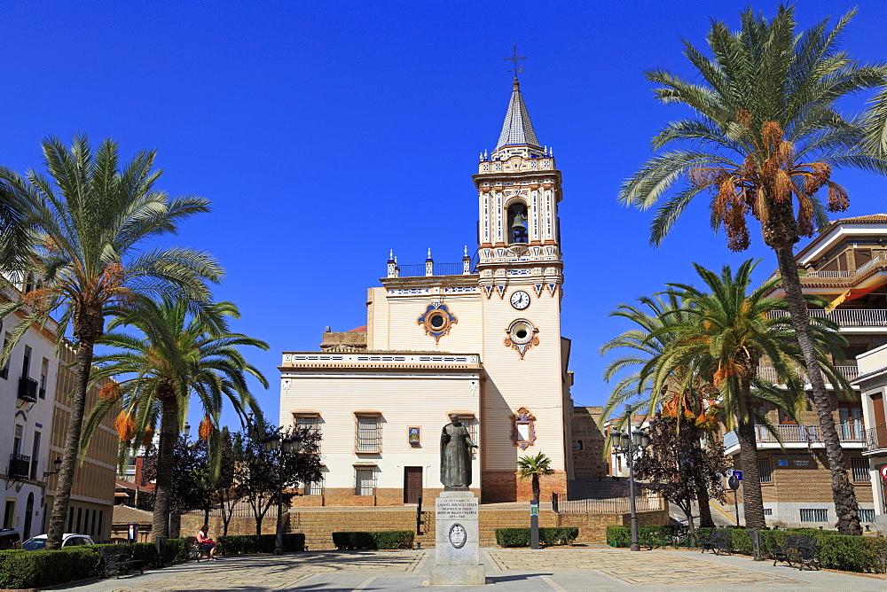 San Pedro Church, Huelva City, Andalusia,Spain, Europe - 776-5173