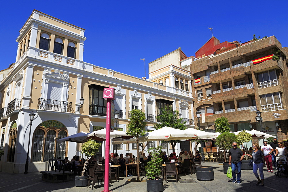 Plaza Alcalde Coto Mora, Huelva City, Andalusia,Spain, Europe - 776-5175