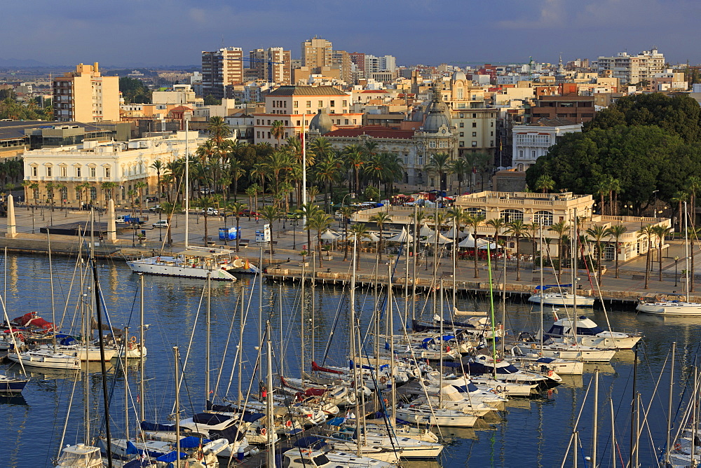 Marina, Cartagena Port, Murcia, Spain, Europe - 776-5176