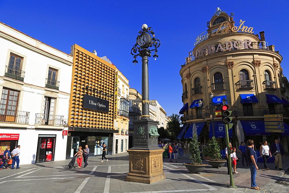 Plaza Esteve, Jerez de la Frontera City, Andalusia, Spain, Europe - 776-5190
