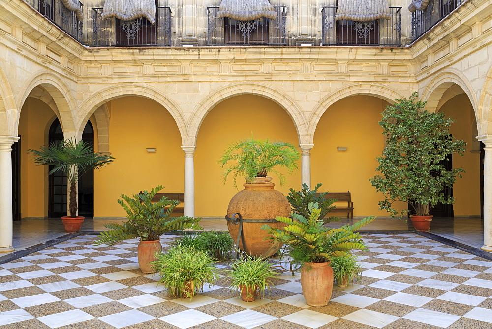 Town Hall, Jerez de la Frontera, Andalusia, Spain, Europe