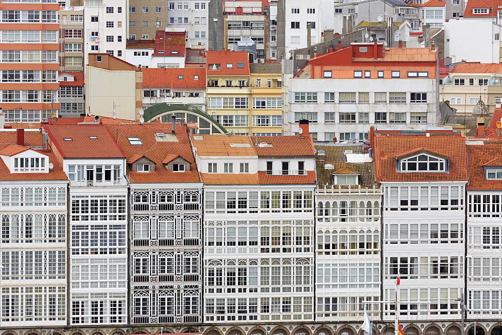 Waterfront, La Coruna City, Galicia, Spain, Europe