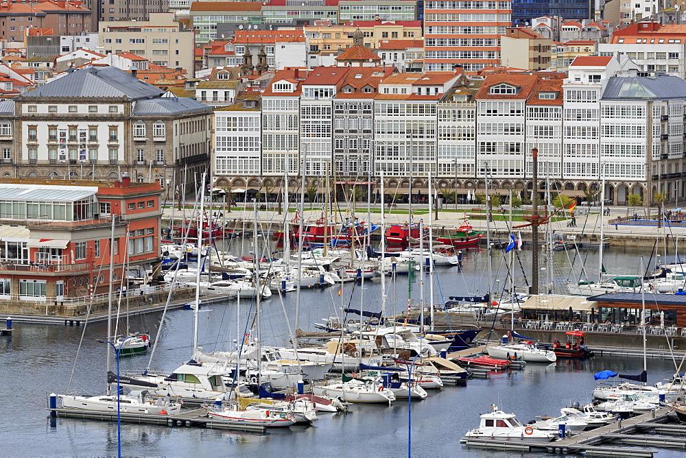 Yacht Marina, La Coruna City, Galicia, Spain, Europe