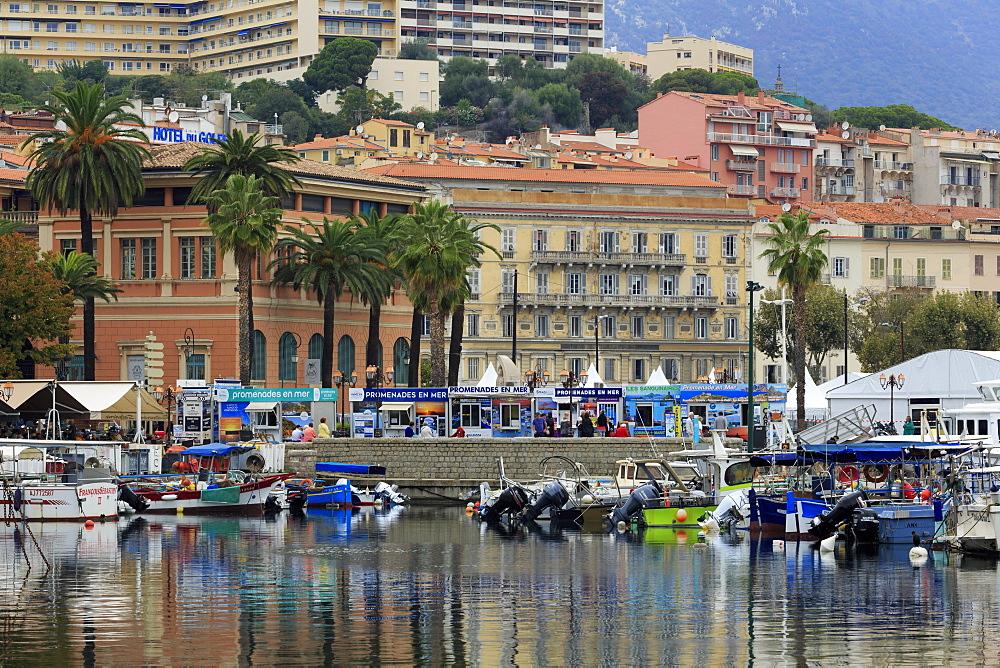 Napoleon Quay, Ajaccio, Corsica Island, France, Mediterranean, Europe